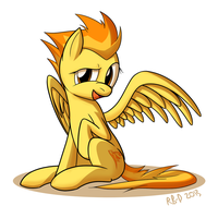 Sitting Spitfire by RB-D