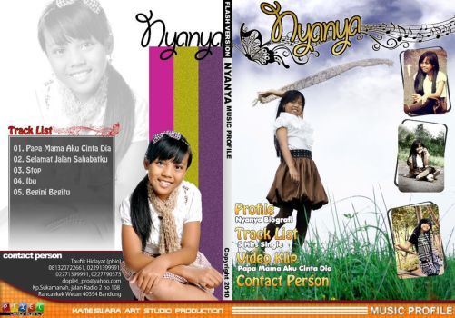 Nyanya DVD_Case by dradesigner