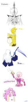 The weapons of the Authority by LittleSnaketail