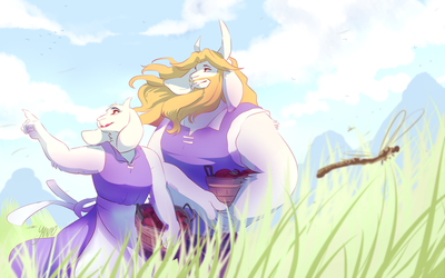 Field by YAMsgarden