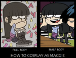 How to Cosplay as Maggie by Prentis-65