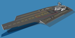 UNAF Tempest Class Carrier by ProjectZephyr