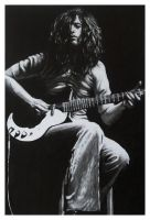 Jimmy Page by CubistPanther