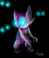 a sableye appeared