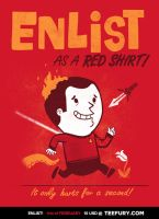 ENLIST as a Red Shirt! by annamariajung