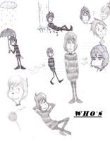 HHaW-Whos sketchs by RoxasNaruLuver