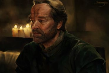 Jorah Mormont Study unfinished by Remainaery