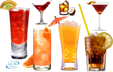 Delicious drinks - PNG by lifeblue