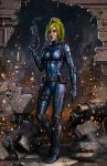 Samus - The Entrance by SirTiefling