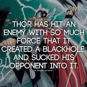Thor facts by antcow