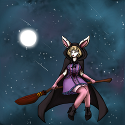 bunnywitch by tiketot4