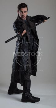 Danny Cyberpunk Detective 46 - Stock Photography by NeoStockz