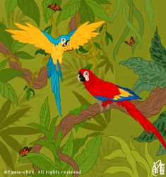Jungle Time by Mymie-chan