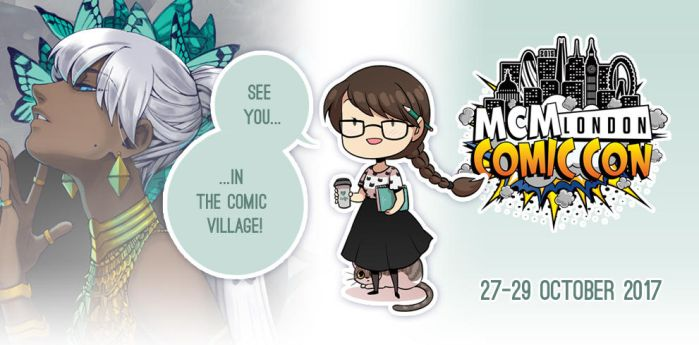 Going to MCM LONDON Oct. 2017 by Zombiesmile