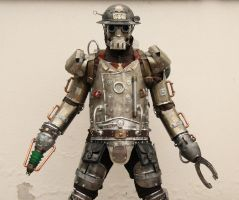 Upgraded Mechanical Soldier with plasma cannon by Zilochius