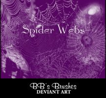 Spider Webs by BBs-Brushes