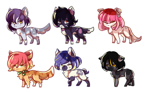 Pansy Adopts [2/6 OPEN] by CynicalAdopts