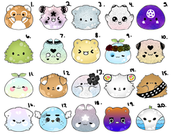 15 Point Blob Adopts (6/20 OPEN) by PecheAmere