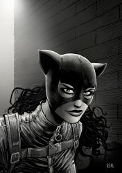 Catwoman by JoseRealArt