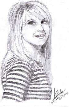 Paramore Hayley Williams by AJpr