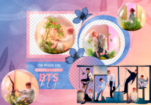 PNG PACK: BTS #60 (Love Yourself 'Answer' E Ver.) by Hallyumi