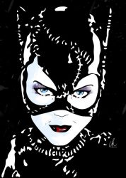 Catwoman - The Cat's Meow by DynamixINK