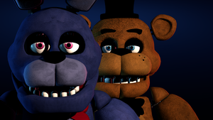 Freddy and Bonnie by Delirious411