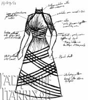 A Dress A Day 10 March 15 by AshenArtifice