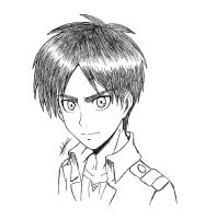 Eren sketch  by Anna-Knightley