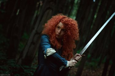 Brave Merida by ShlachinaPolina