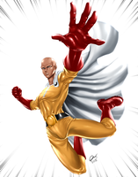 One Punch Man by BornTewSlow