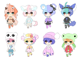Kawaii Adopts [OPEN] by Sammy-Shota-Prince