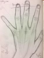 Sketching Ze Hand by Xmzv