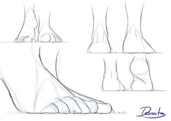 Feet Study Lesson 2 by made-in-donuts