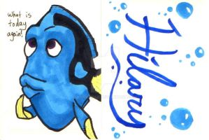 Dory card for Hilary by kmccaigue