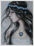 Winter Heart ACEO by Zindy