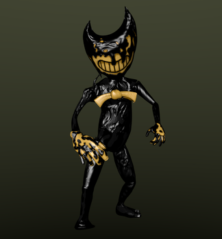Official Bendy Model by Photo-NegativeMickey