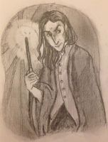 Severus Snape by DidxSomeonexSayxMad