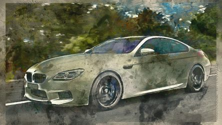 BMW m6 coupe 001 by alexartro