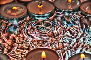Fire and Water Drop 04 HDR by Creative--Dragon