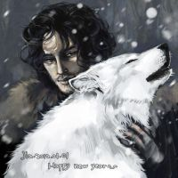 game of thrones.jon by kakachan