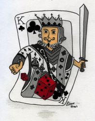 King card by Lutz-Out