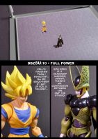 Cell vs Goku Part 2 - p1 by SUnicron