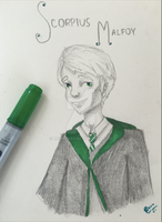 Scorpius Malfoy: Harry Potter and the Cursed Child by rsharma5