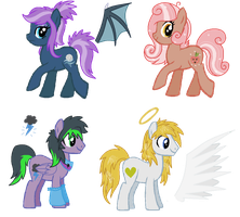 DTA Ponies - CLOSED! Thanks for participating! by LieutenantKyohei