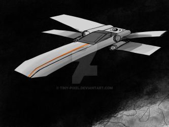 X-wing by tiny-pixel