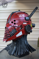 The Nexialist MkII Scout class helmet (98% done) by TwoHornsUnited