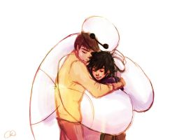 Big Hero 6 - I am Here With You Now by ChristyTortland