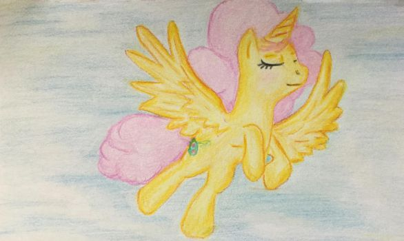 My Wings Are Pretty - Let's Fly to the Castle! by KarRedRoses