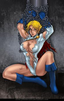 Beat and Bound 1: Power Girl by andrewr255